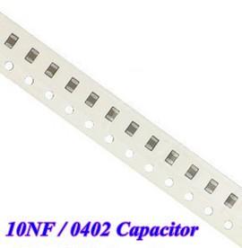 Condensatore Ceramico 10nF SMD 0402 10pz