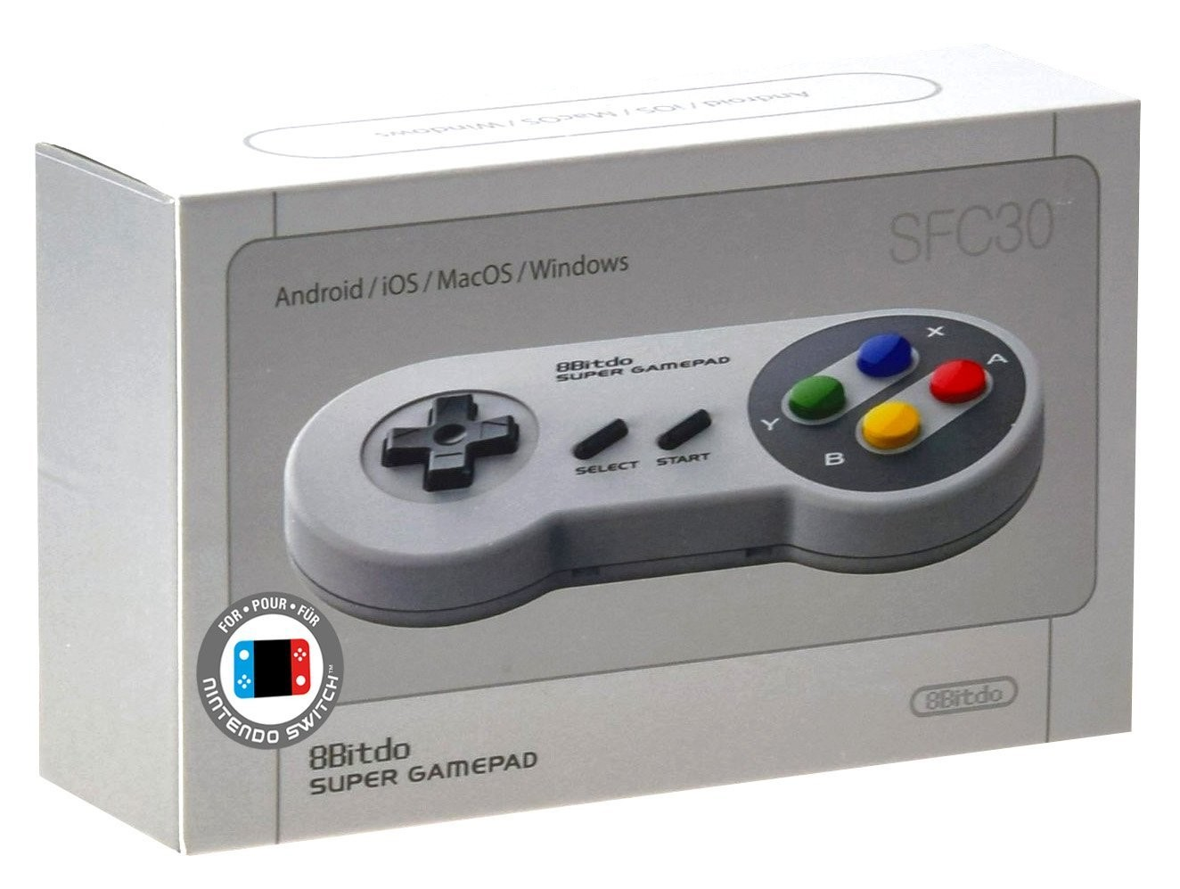 8Bitdo SFC30 30th Anniversario Bluetooth Snes Controller