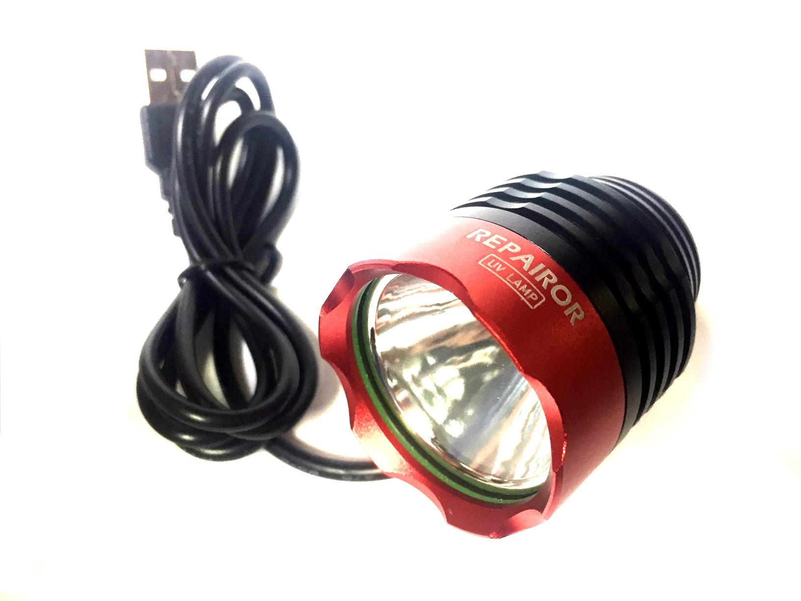 REPAIROR 5V 7W Aluminium USB UV Lamp