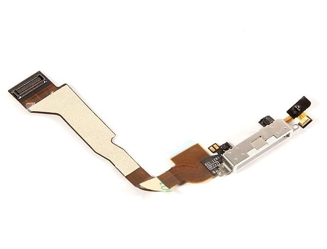 Iphone 4 Connettore Di Carica + Microfono Bianco