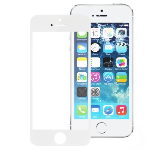 Iphone 5 - 5S - 5C Vetro Per Display Bianco