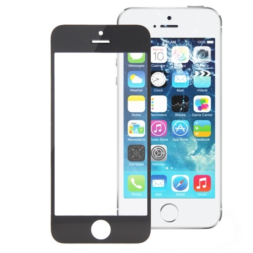 Iphone 5 - 5S - 5C Vetro Per Display Nero