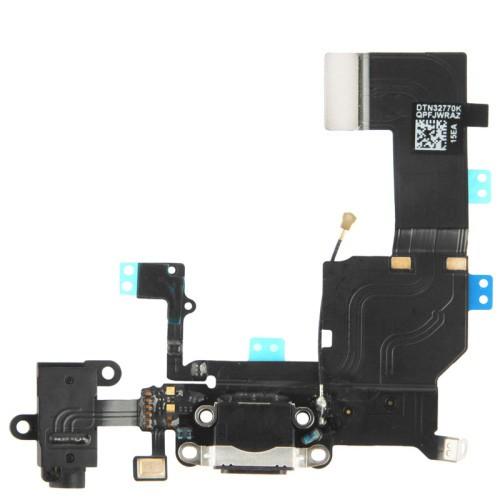 Iphone 5C Flat Connettore Di Carica + Jack + Microfono