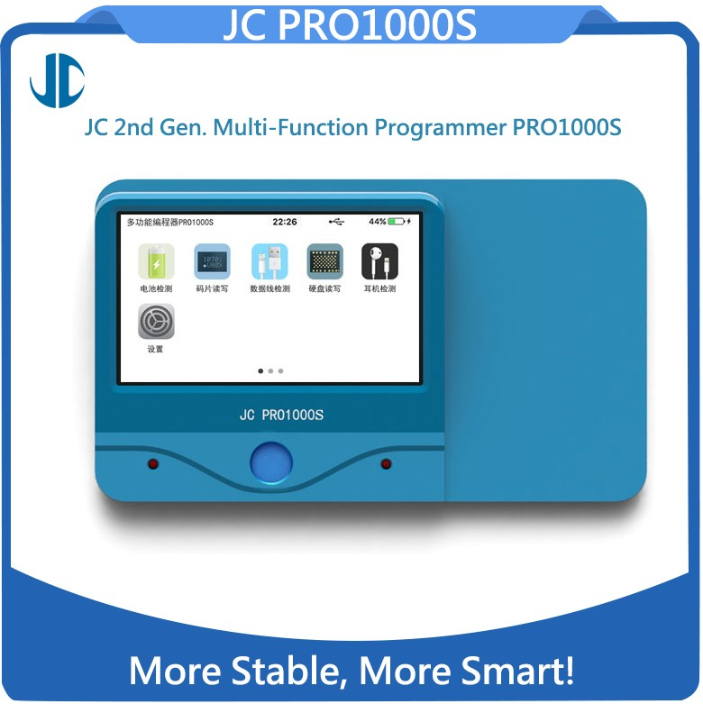 JC Pro1000S Programmatore Iphone Multifunzione