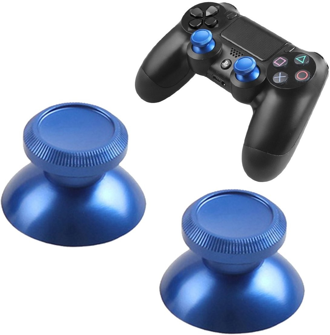 PS4 Joypad Leva Analogico Metal Mod Blu