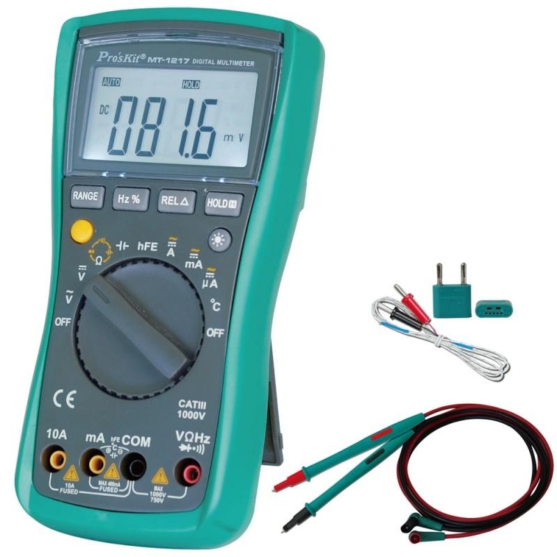 Tester Professionale Proskit MT-1217-C Auto Range