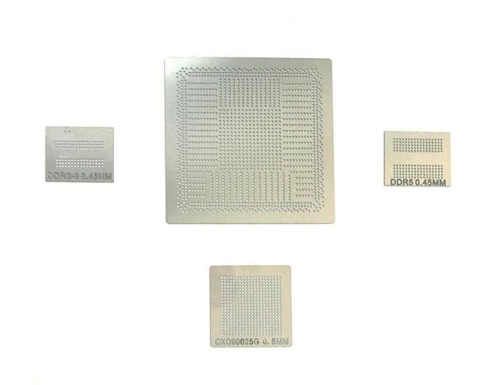 PS4 GPU CXD90026G CXD90025G DDR3 DDR5 BGA Stencil
