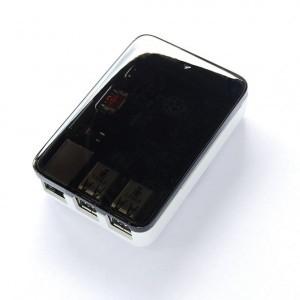 Short Crust Plus Case Per Raspberry Pi 2, 3 B+ Bianco