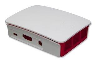 raspberry Pi 2 , 3 B+ Case Originale Bianco Rosso