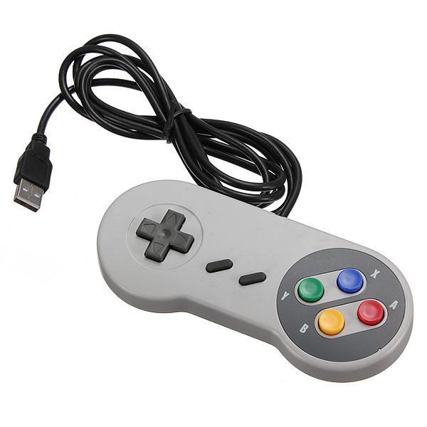 Snes Controller Retro Gaming USB