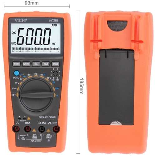 Tester Professionale VC-99 12 Funzioni