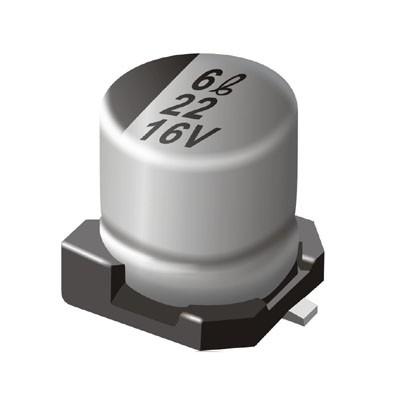 Condensatore elettrolitico SMD 22uF 6.3V B Case