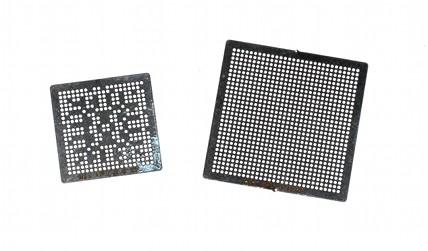 WII GPU CPU BGA Stencil