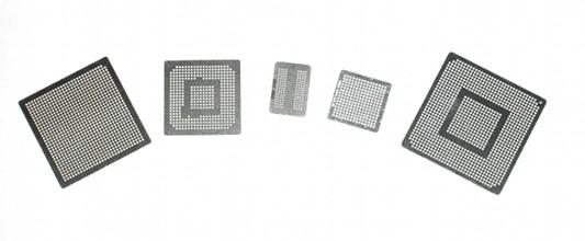 XBOX 360 GPU CPU CSP CACHE HANA Reballin Stencil BGA