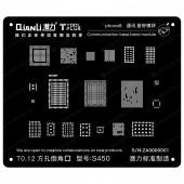 QianLi ToolPlus S450 iphone 8 Base Band BGA Reballing stencil