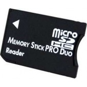 Adattatore MicroSD TO MS Memory Stick PRO Duo