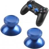 PS4 Joypad Leva Analogico Metal Mod Blu