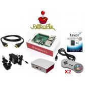 Console Retrogame Raspberry Pi 3 Retropie Kit