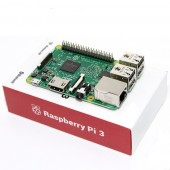Raspberry Pi 3 Model B - 64Bit 1.2GHz Quad-Core