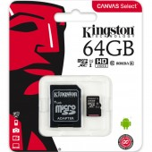 Kingston 64GB Classe 10 U1