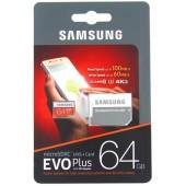 Samsung Evo Plus 64GB Classe 10 U3 4K