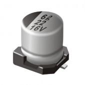 Condensatore elettrolitico 100uF 6.3V C Case